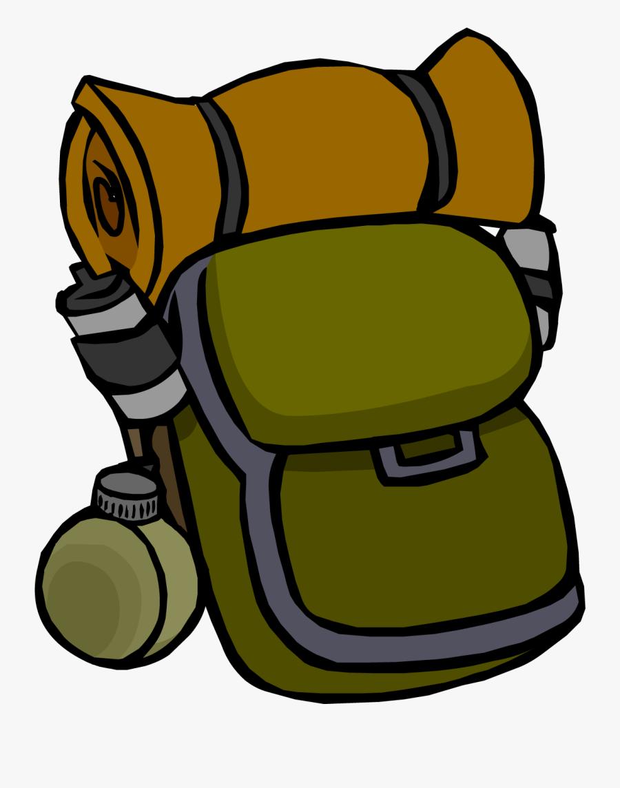 Clip Art Picture Download Huge - Camping Bag Clip Art, Transparent Clipart