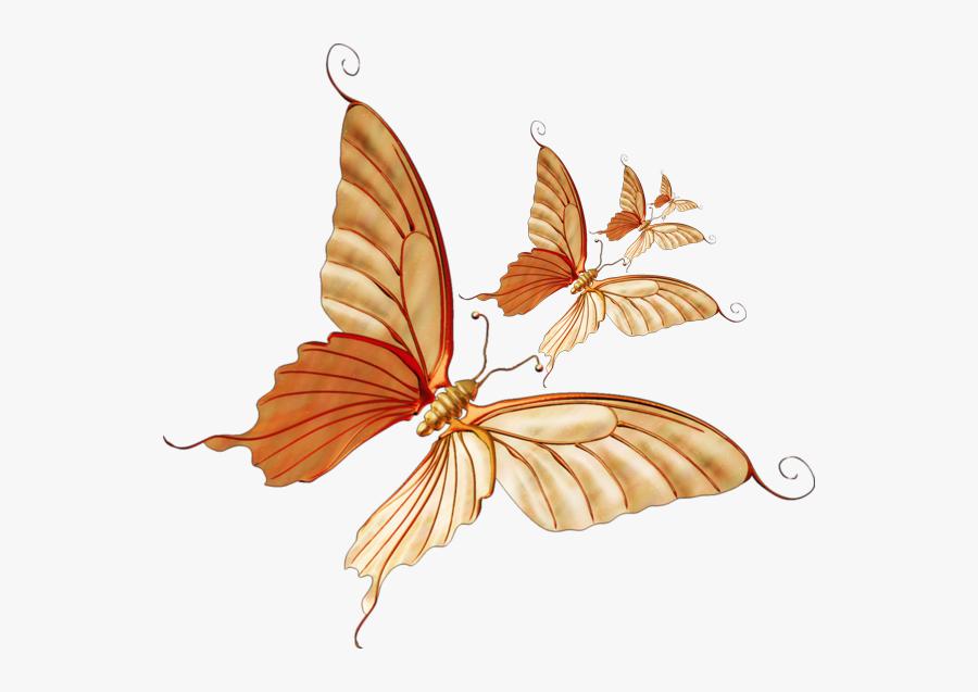Transparent Monarch Clipart - Butterfly, Transparent Clipart