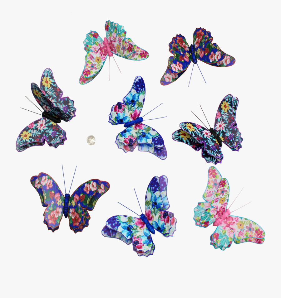 Butterfly Fantasy Duo Paper - Swallowtail Butterfly, Transparent Clipart