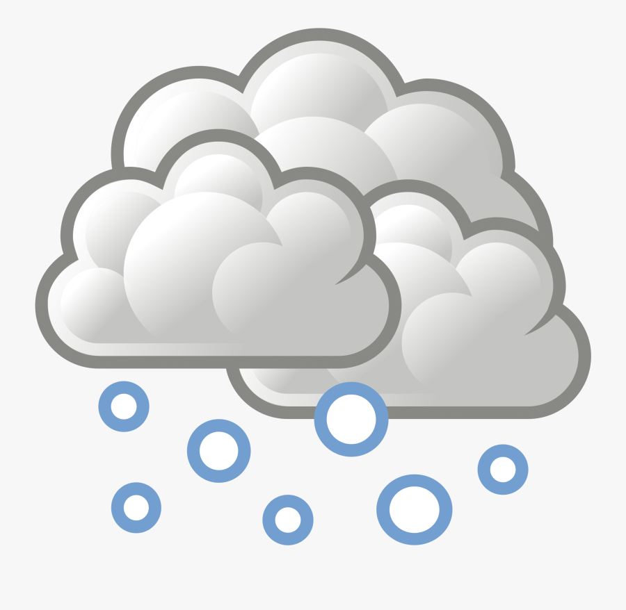 Tango Weather Snow - Snow Weather Png, Transparent Clipart