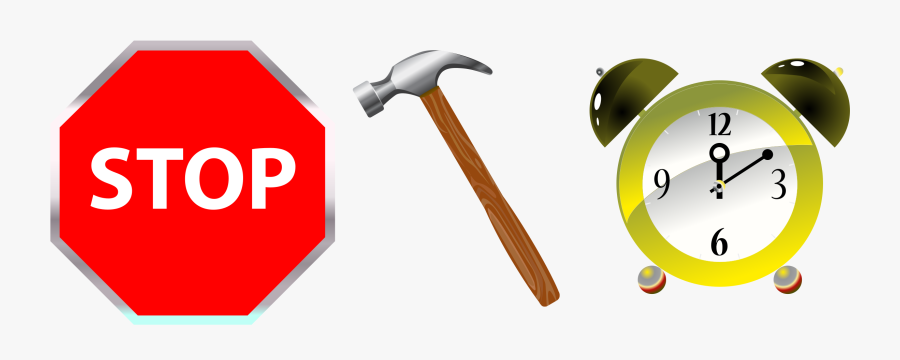 This Free Icons Png Design Of Stop Hammer Time - Clip Art, Transparent Clipart