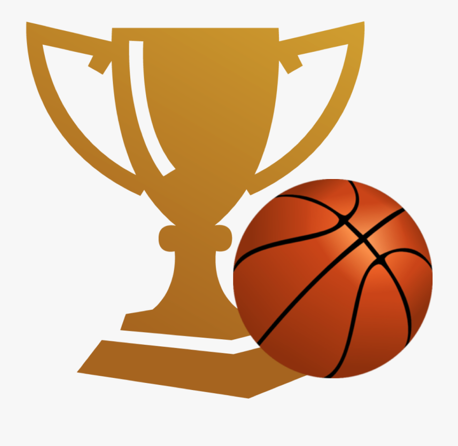 Trophy Clipart Basketball Championship - Basketball Trophy Background Png, Transparent Clipart