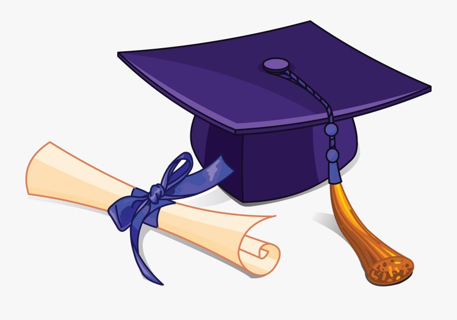 High School Middle Graduation Clipart Clip Art Transparent - Graduating High School Clipart, Transparent Clipart
