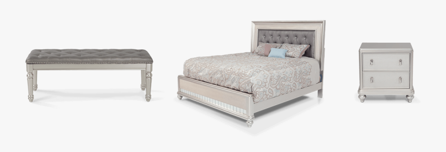 Transparent Bed Clipart - Bed Frame, Transparent Clipart
