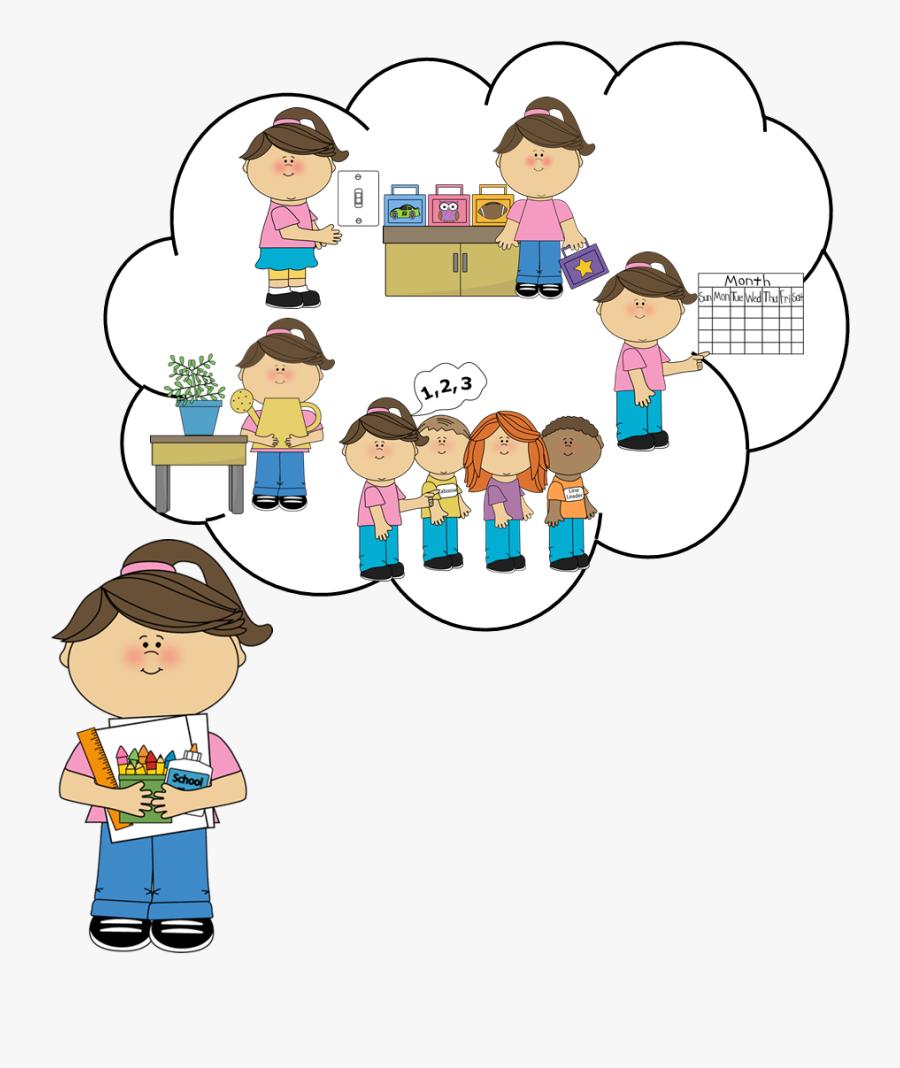 "A Teacher""s Idea - Responsibility Clipart, Transparent Clipart"