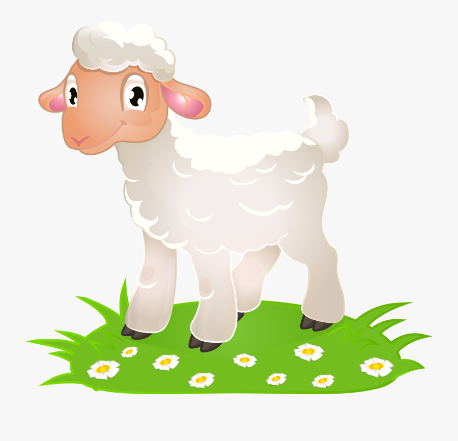 Easter With Grass Png Clip Art Image, Transparent Clipart