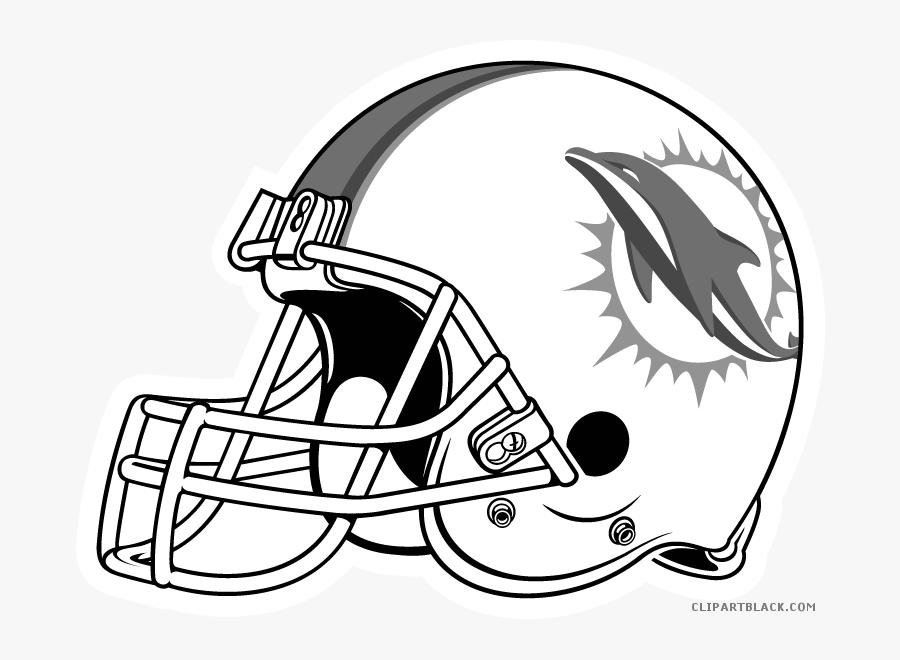 Dolphin Clipart Miami Dolphins - Old Denver Broncos Helmet, Transparent Clipart
