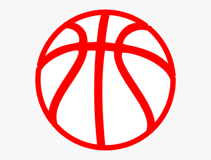 Basketball Clipart Red, Transparent Clipart