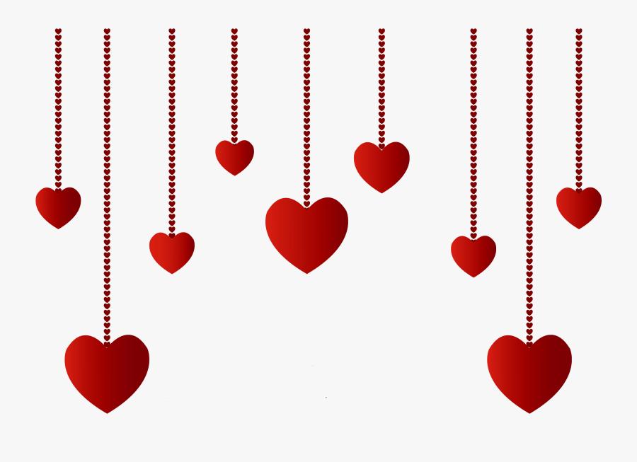 Transparent Black Hearts Png - Transparent Background Valentines Day Clipart, Transparent Clipart