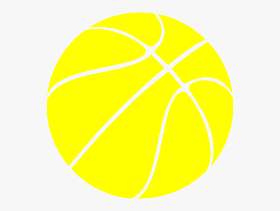Yellow Basketball, Basketball, Btw Basketball Clip - Basketball Themed Invitation Template, Transparent Clipart