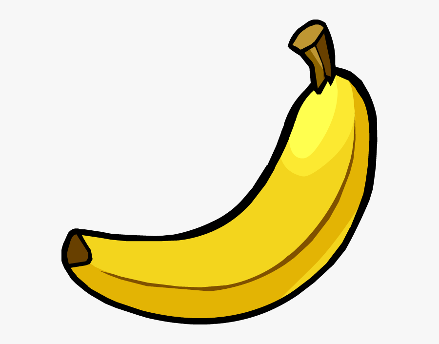 Banana Vector 4 - Imagen De Banana Animada, Transparent Clipart