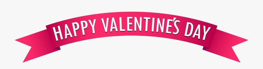 Happy Valentines Day Banner Clipart - Valentines Day Banner Clipart, Transparent Clipart