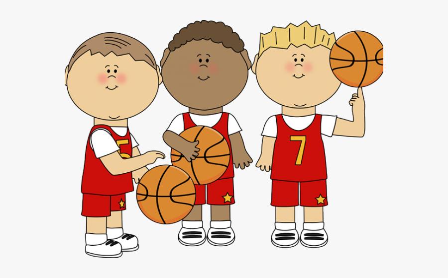 Basketball Team Clip Art, Transparent Clipart
