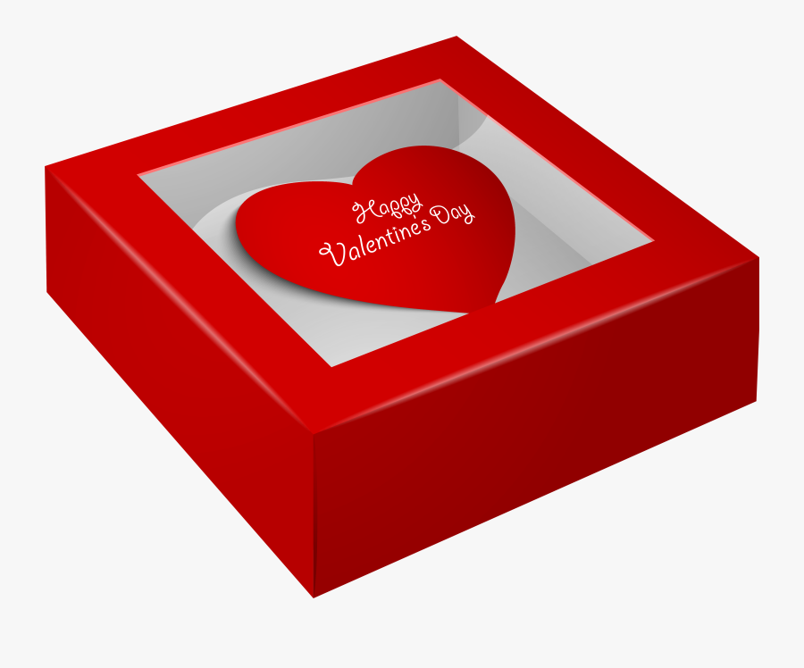 """Happy Valentine""""s Day Box Png Clip Art Imageu200b Gallery - Happy Valentine Day Gift, Transparent Clipart"""