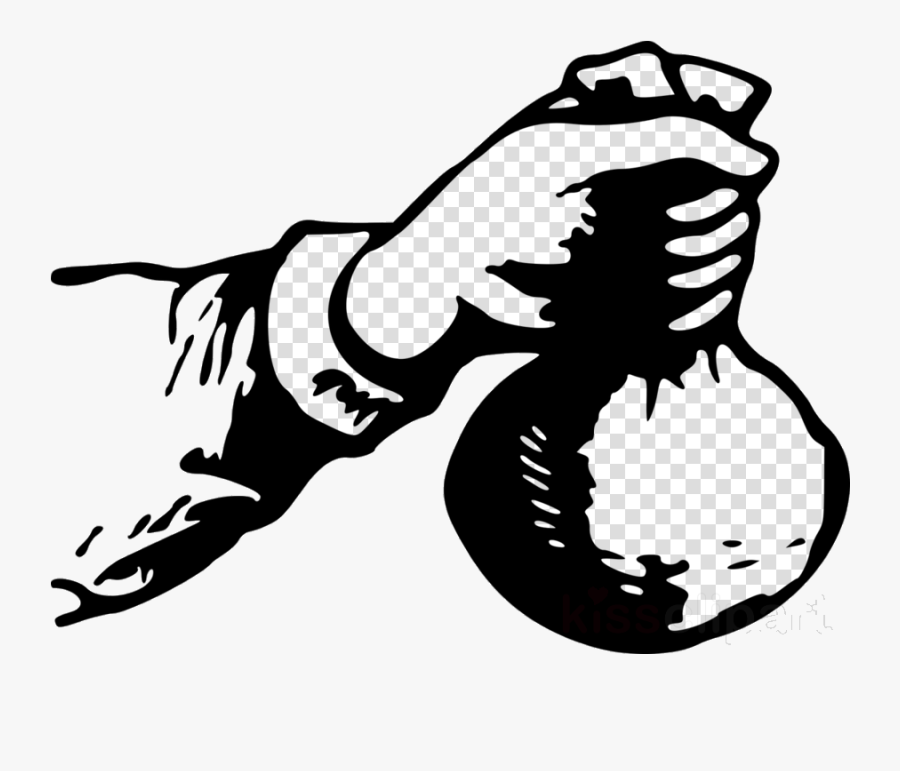 Cash Hand Holding Clipart Money Clip Art Transparent - Kingdom Financier, Transparent Clipart