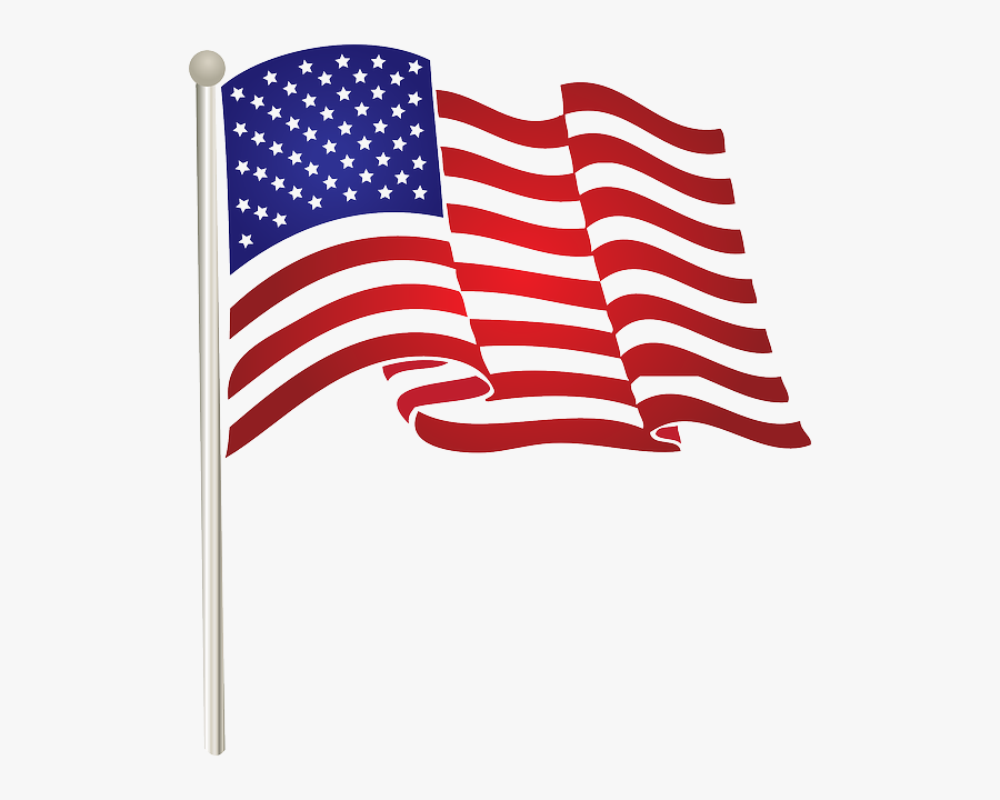 Flag Png America Pinterest - Transparent American Flag Clipart, Transparent Clipart