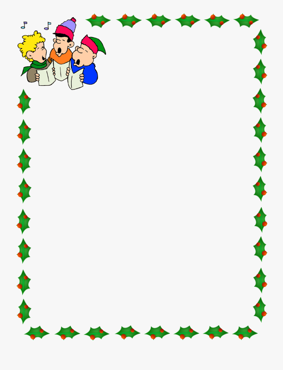 Christmas Border Borders Clipart Free Transparent Png - Christmas Kids Border, Transparent Clipart