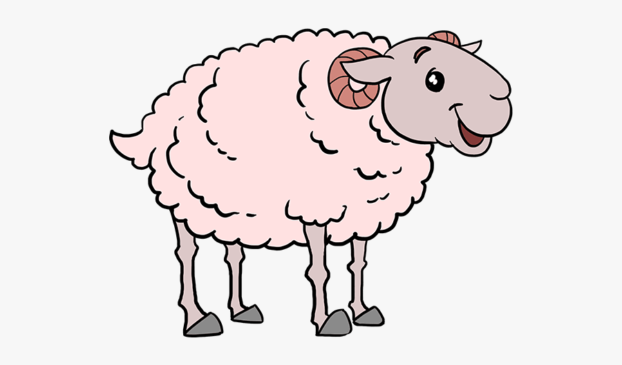 Collection Of Free Lamb Drawing Cute Download On Ui - Lamb Drawing Cute, Transparent Clipart
