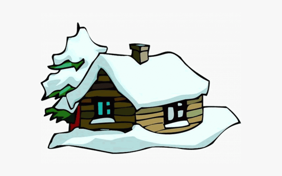 Png Download , Png Download - Cabin In Snow Clipart, Transparent Clipart