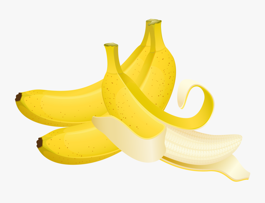 Clipart Banana Large - Saba Banana, Transparent Clipart