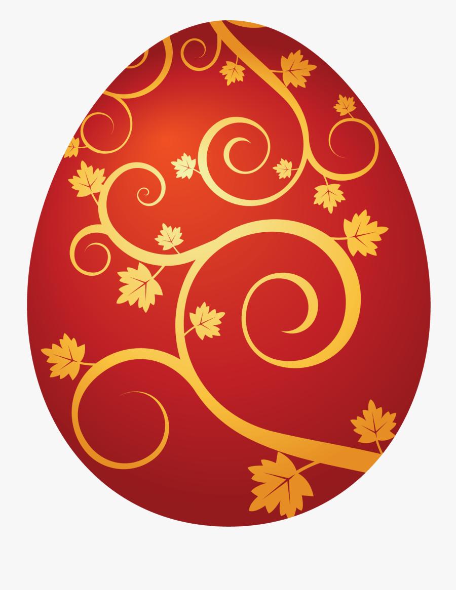 Transparent Easter Banner Png - Easter Eggs Clipart Orange, Transparent Clipart