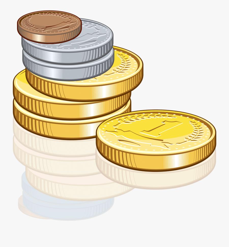 Money Clipart Coins - Money Coins Clipart, Transparent Clipart