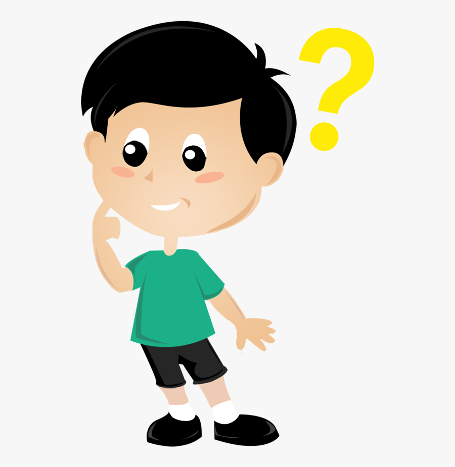 Clip Art Kids Thinking Clipart - Boy Thinking Clipart Png , Free ...