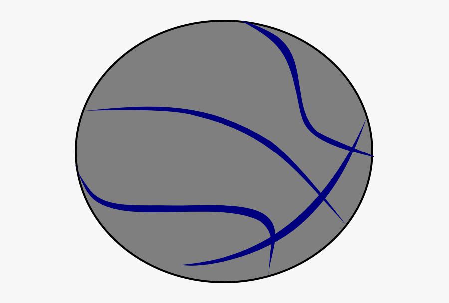 Grey Blue Basketball Svg Clip Arts - Pure Joy Basketball, Transparent Clipart