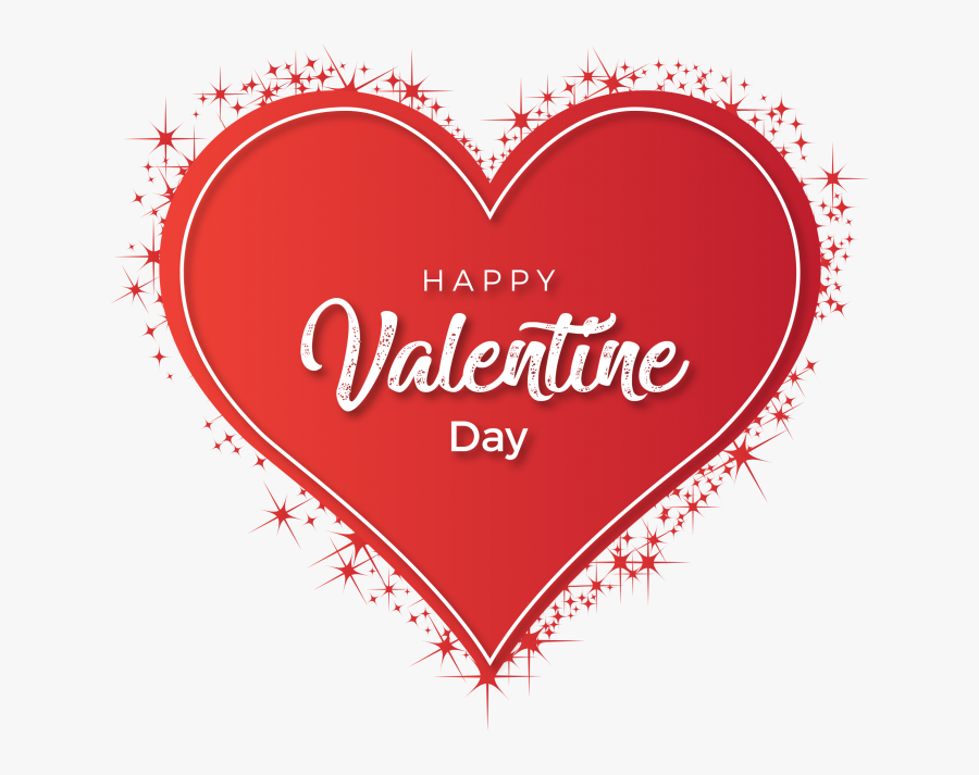 Beautiful Happy Valentines Day, Transparent Clipart