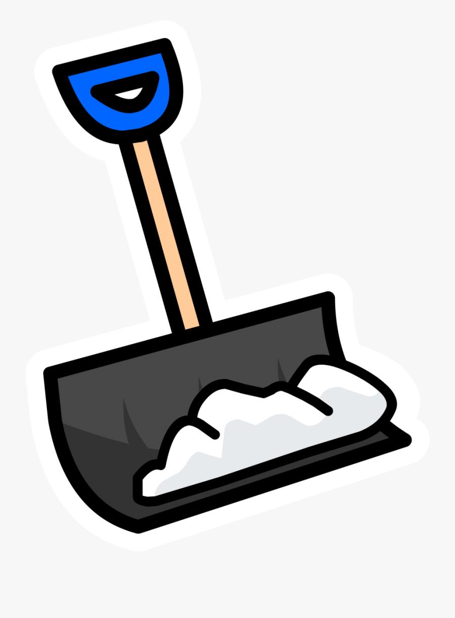 Clip Art Shoveling Snow Clipart - Clip Art Snow Shovel, Transparent Clipart