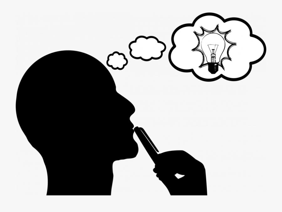 Thumb Image - Transparent Thinking Cliparts, Transparent Clipart