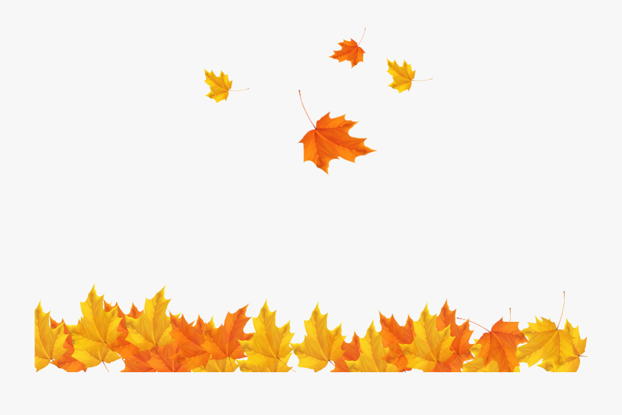 Freeuse Download Autumn Leaves Background Clipart - Transparent Background Autumn Leaves Png, Transparent Clipart