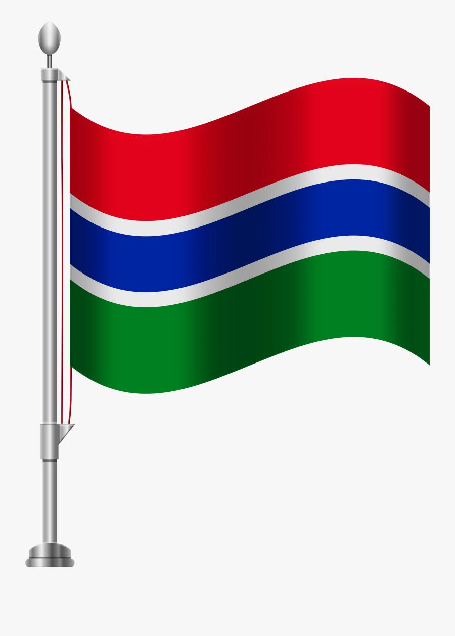 Gambia Flag Png Clip Art Transparent Png , Png Download - South Africa Flag Png, Transparent Clipart