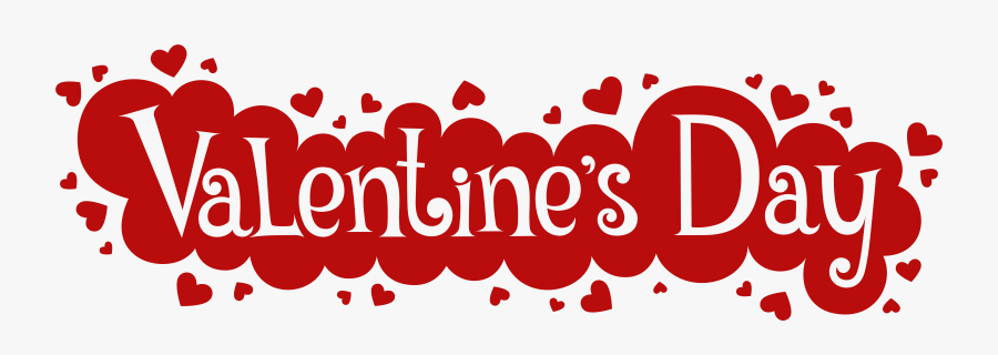 Clipart Black And White Valentines Day Free Clipart - Happy Valentines Day Image White Transparent, Transparent Clipart