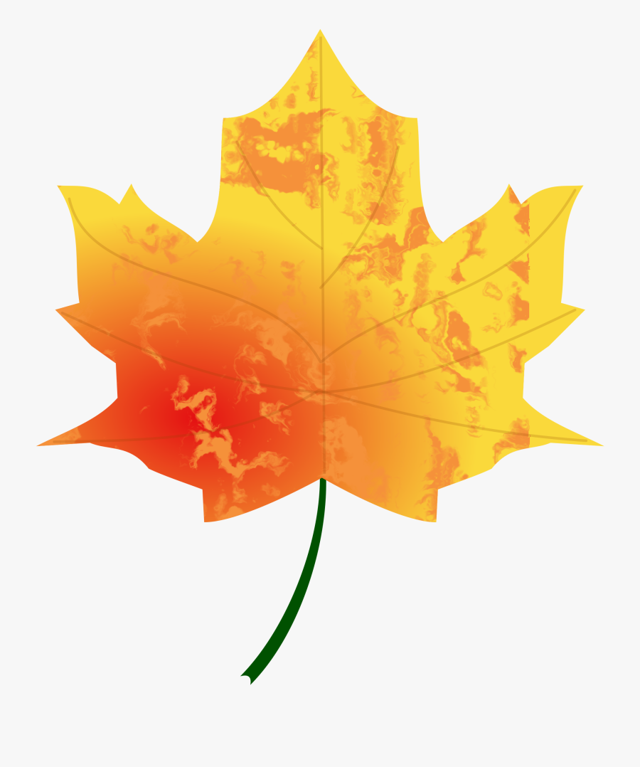Fall Leaves Clip Art 15, - Clipart Of Autumn Leaves, Transparent Clipart