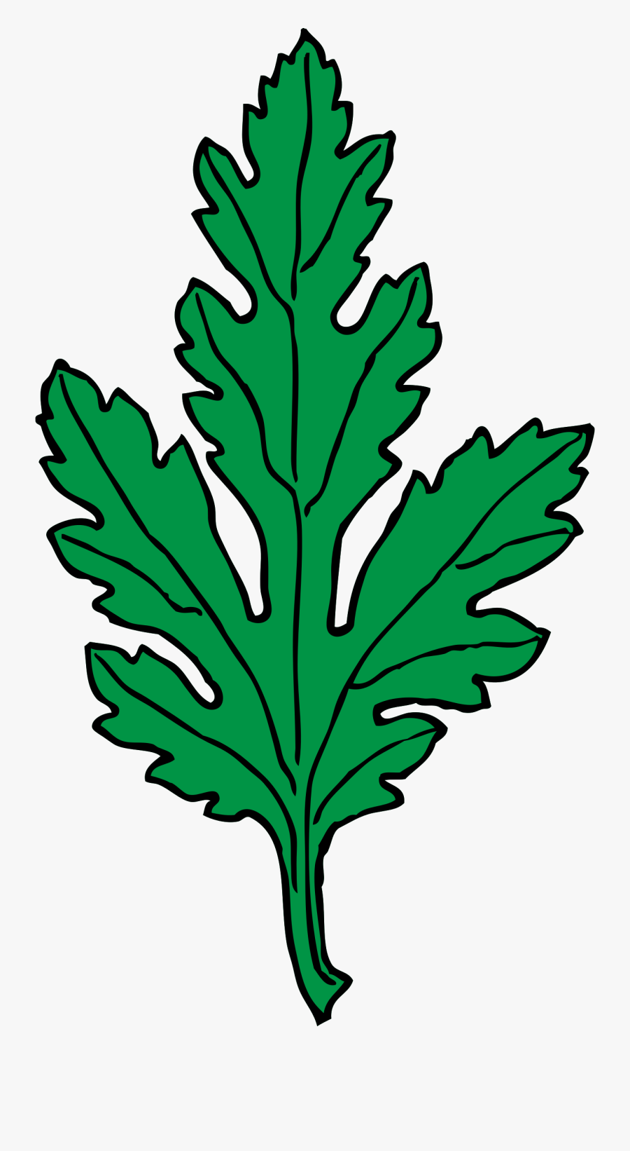 Clipart - Green Leaf Clip Art, Transparent Clipart