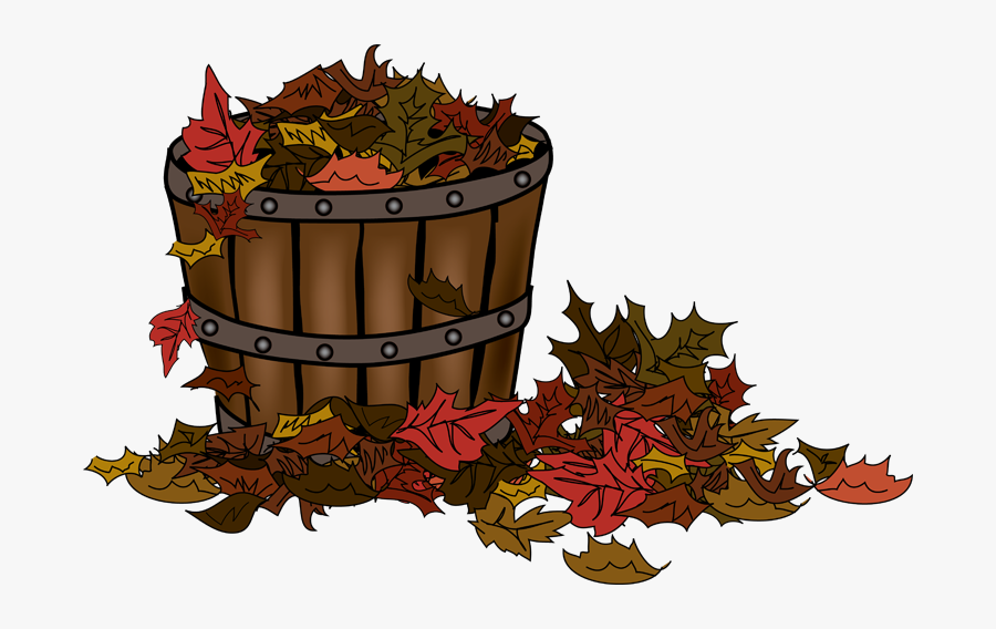 Autumn Clip Art Basket, Transparent Clipart
