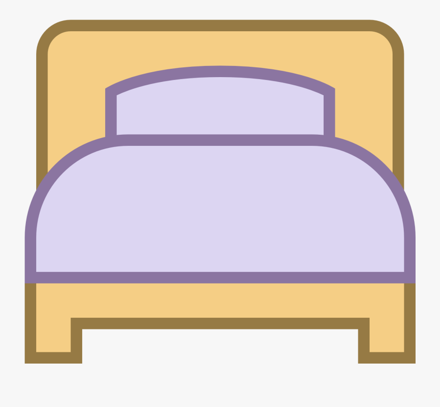 Best Single Top - Bed Icon, Transparent Clipart