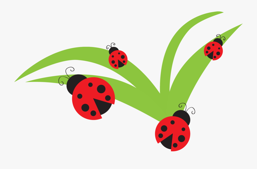 Ladybugs Clipart Leaf Clip Art - Ladybug On Flower Clipart, Transparent Clipart