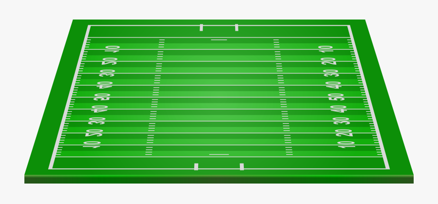 American Football Field Png Clip Art - American Football Field Png, Transparent Clipart