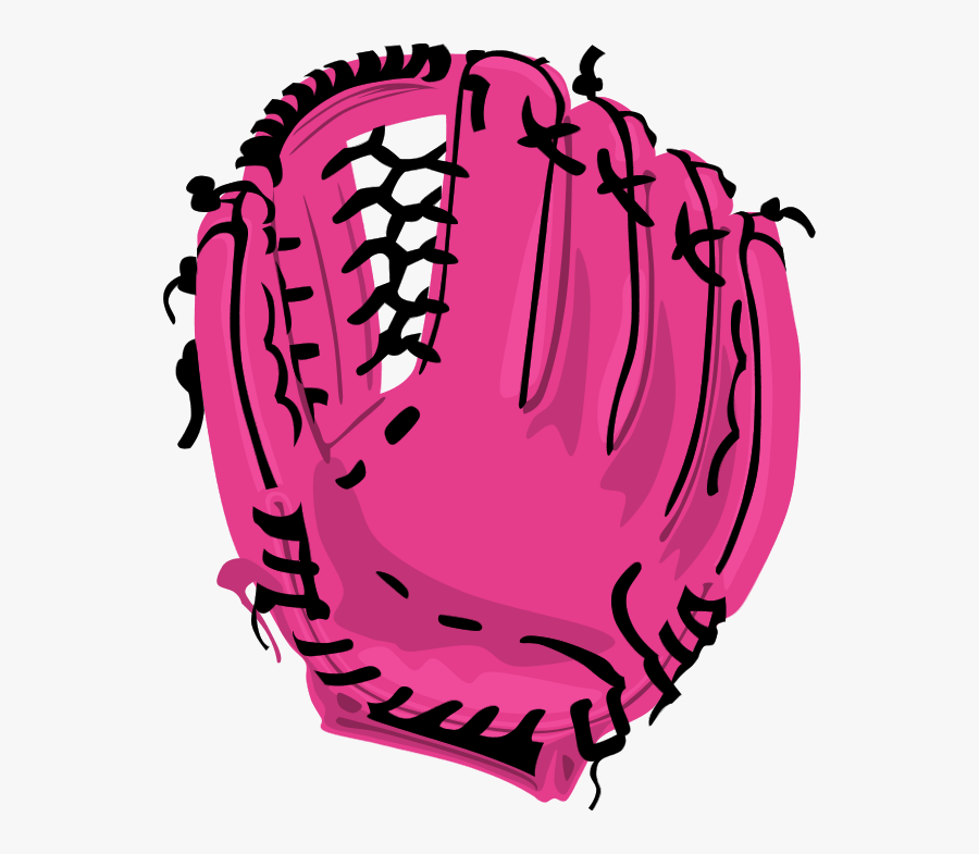 Softball Glove Drawing At - Baseball Glove Png Clipart, Transparent Clipart