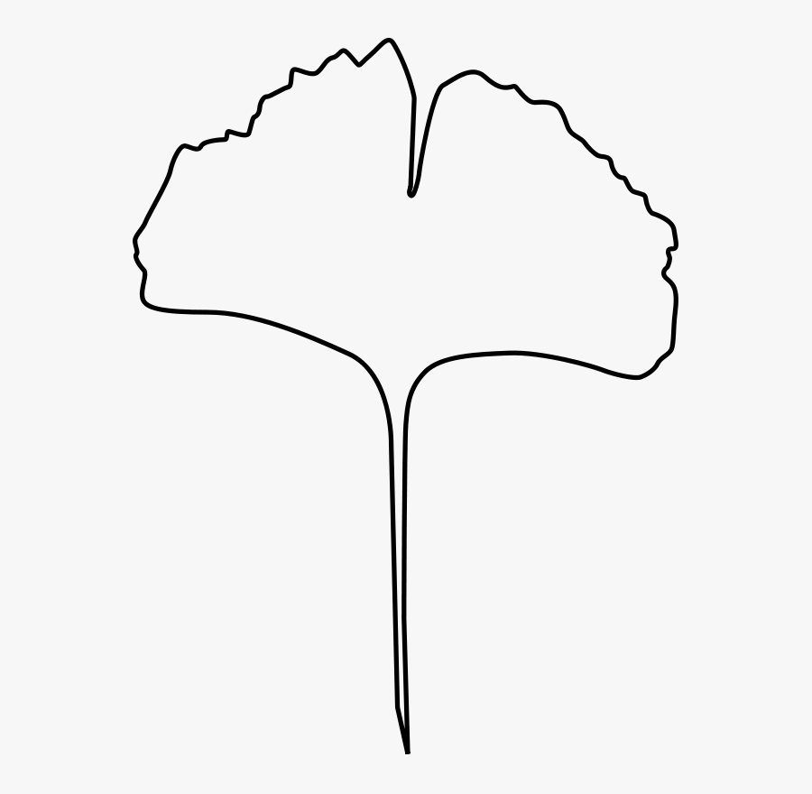 Leaf Outline Fall Leaves Clipart 3 Clipart - Line Art, Transparent Clipart