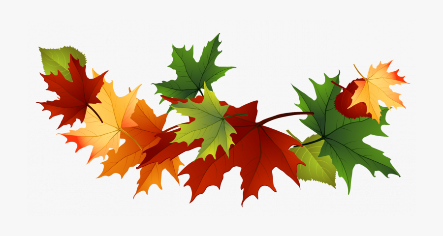 Transparent Leaves Clipart - Fall Leaves Png Transparent, Transparent Clipart