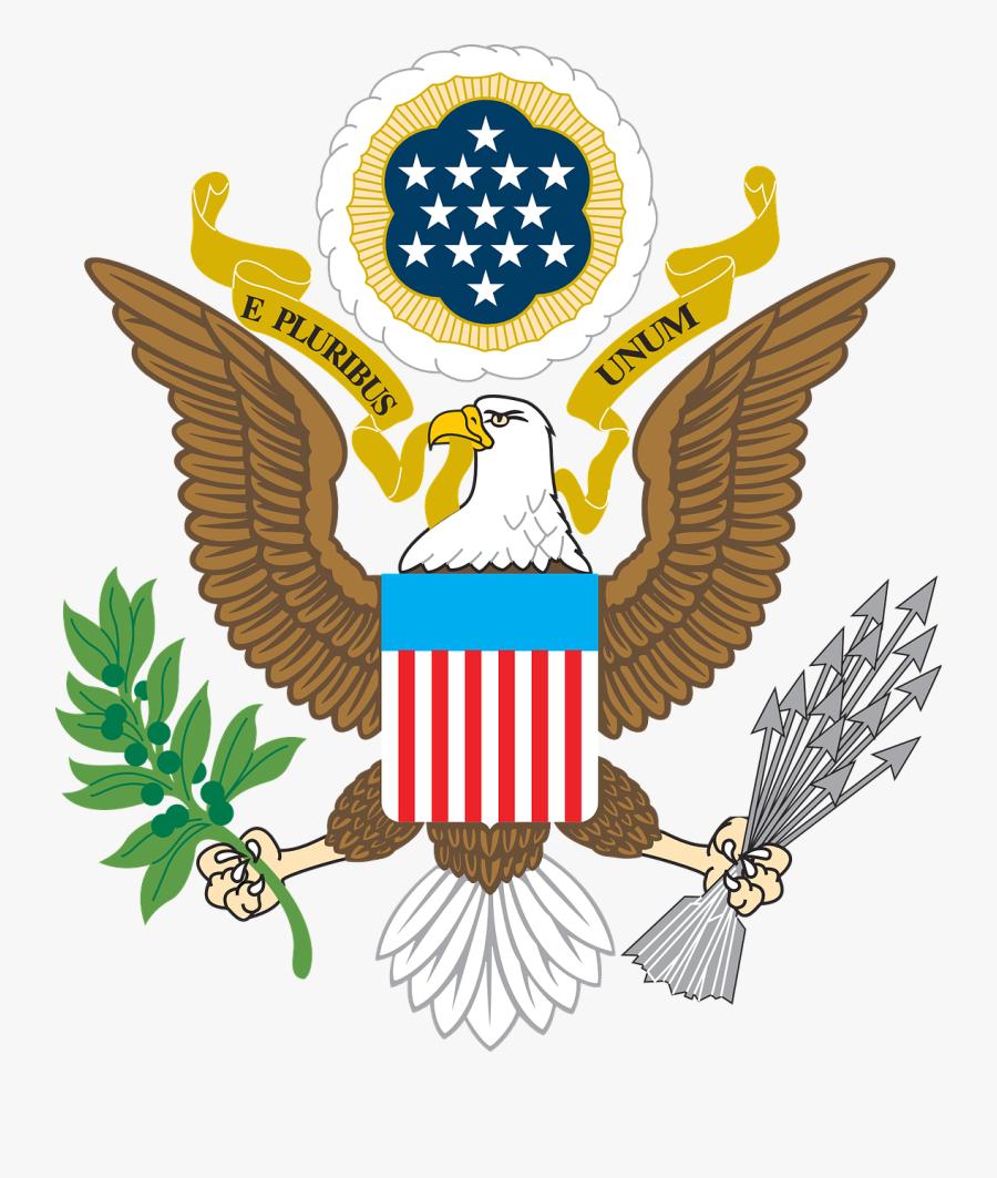 American Flags Eagle - American Eagle Clip Art, Transparent Clipart
