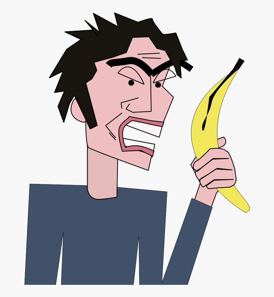 Clipart Banana Eye - Go Bananas Idiom Meaning, Transparent Clipart