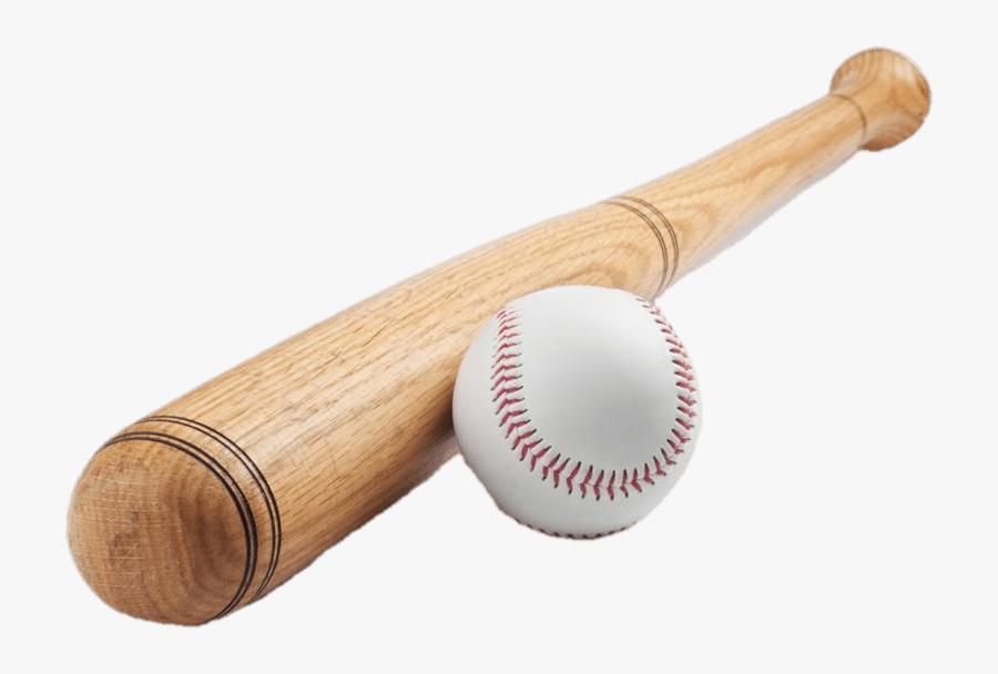 Baseball Bat & Ball Transparent Png - Rounders Bat And Ball, Transparent Clipart