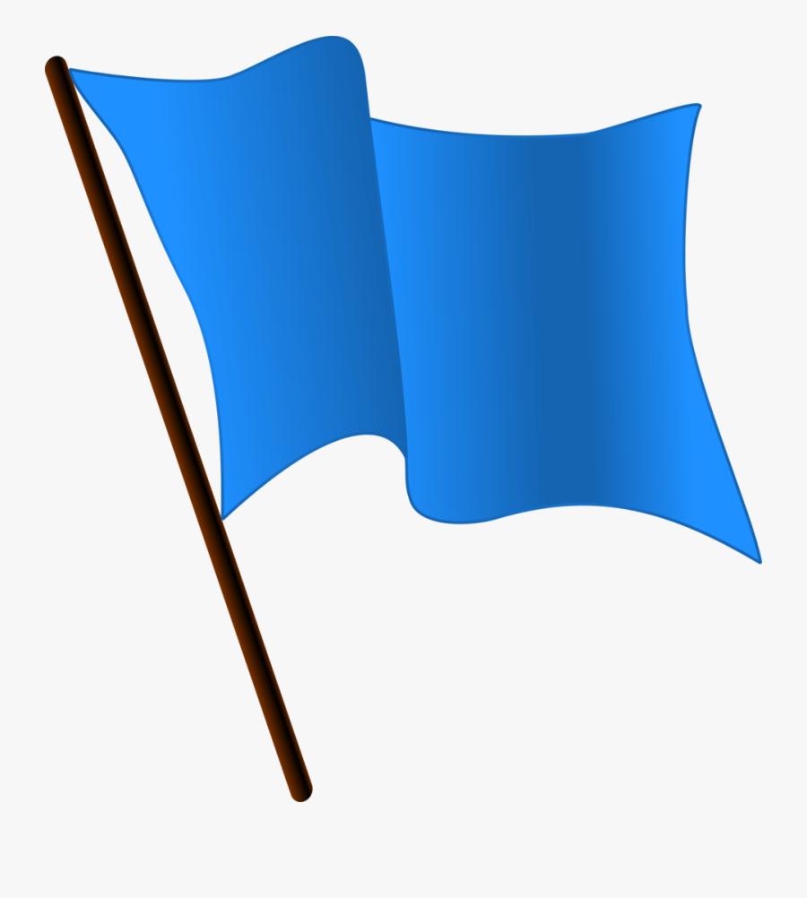Top Flag Clip Art Free Clipart Spot - Blue Flag Waving Gif, Transparent Clipart