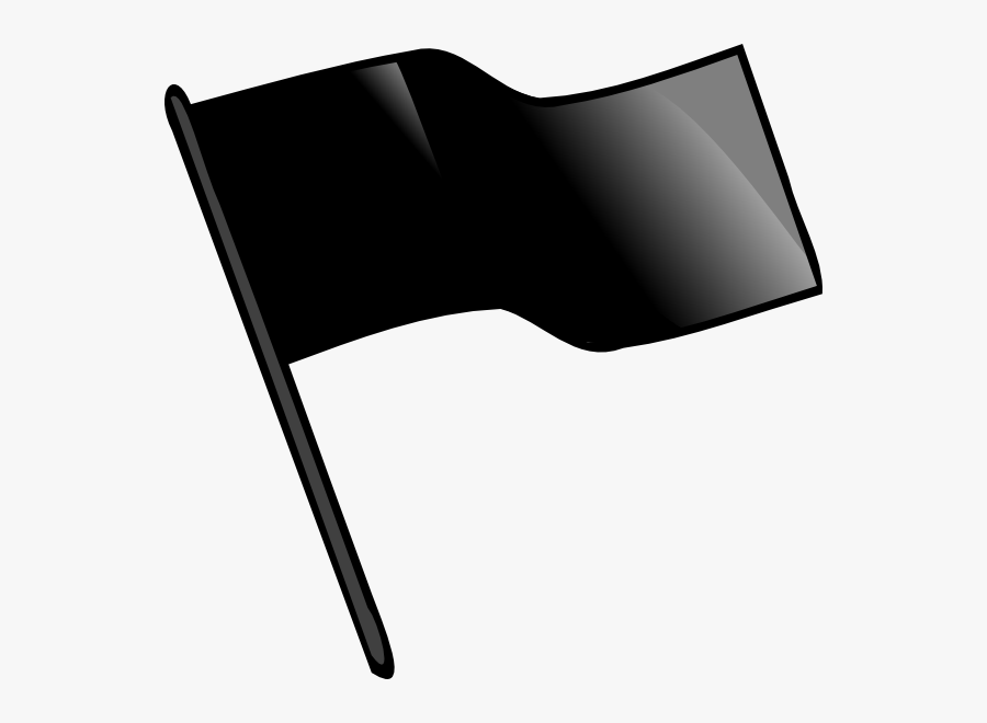 Clip Art Black Flag Clipart - Capture The Flag Flag, Transparent Clipart