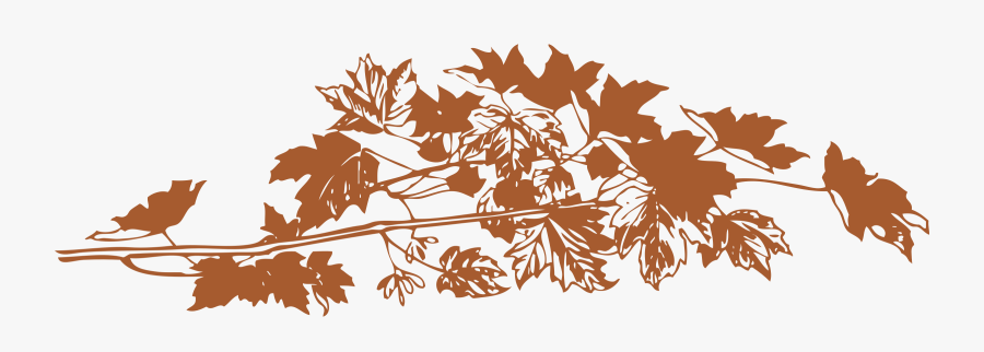 Graphic Library Autumn Big Image Png - Transparent Designs Fall Leaves, Transparent Clipart