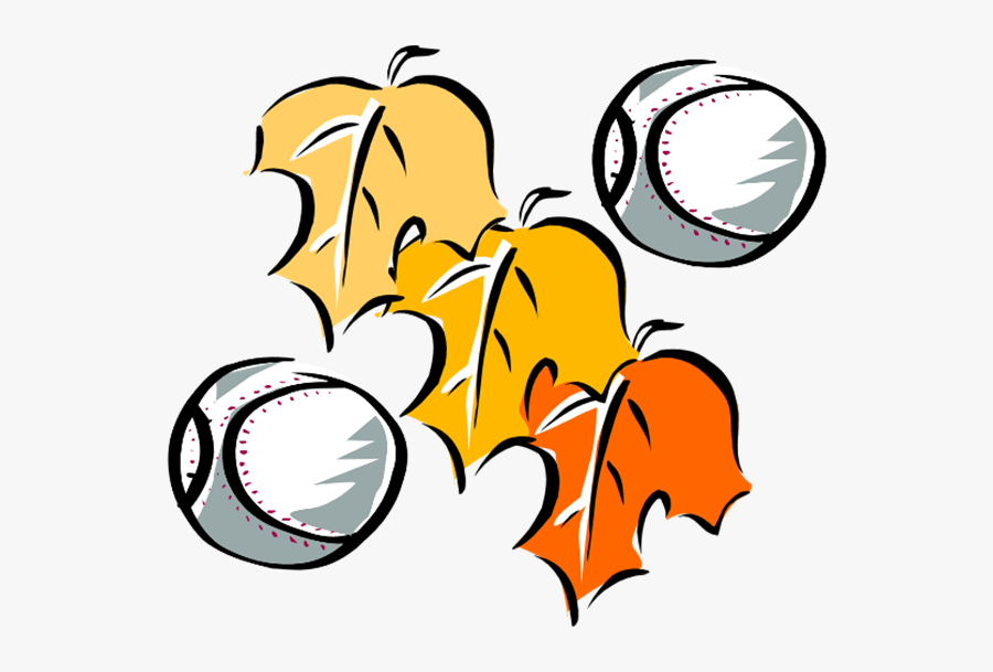 Fall Ball Registration Opens In June For Grades 7-9 - Fall Leaves Clip Art, Transparent Clipart
